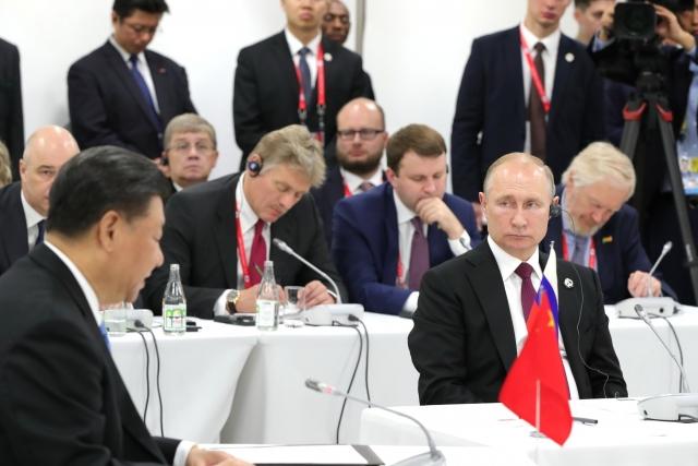 Владимир Путин на саммите «Большой двадцатки» в Осаке