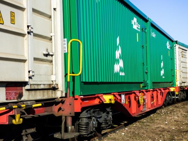 Состав с контейнерами