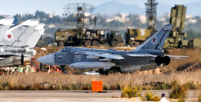 Российская авиабазе в Сирии Хмеймим