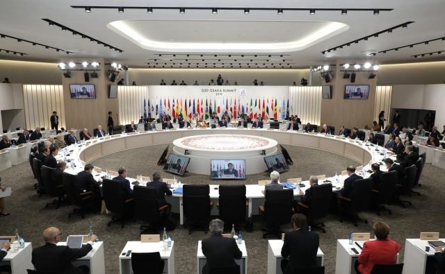 Итоговое заседание «Группы двадцати». 29 июня 2019 года, Осака