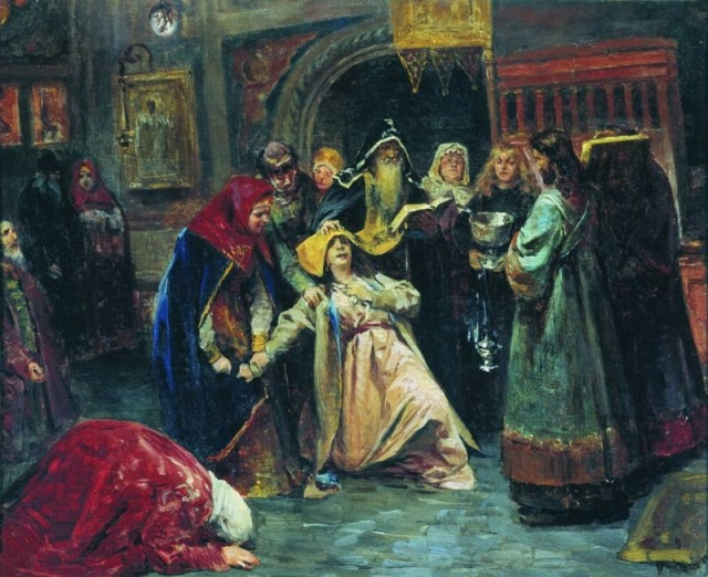 Лебедев Клавдий Васильевич. Насильственный постриг. 1896
