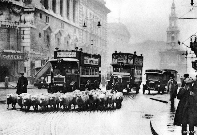 Лондон. 1930