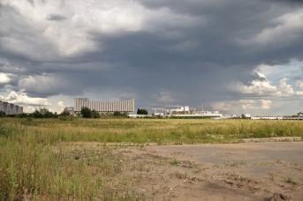 Большинство территорий бывшего Черкизовского рынка всё еще занимает пустырь