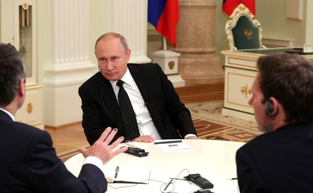 Интервью Владимира Путина газете The Financial Times