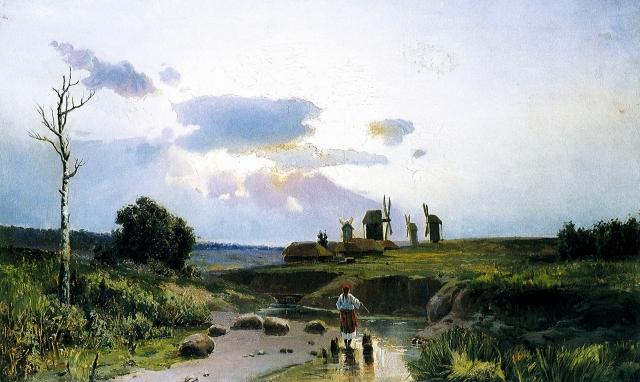 Константин Трутовский. Украина. 1880-е
