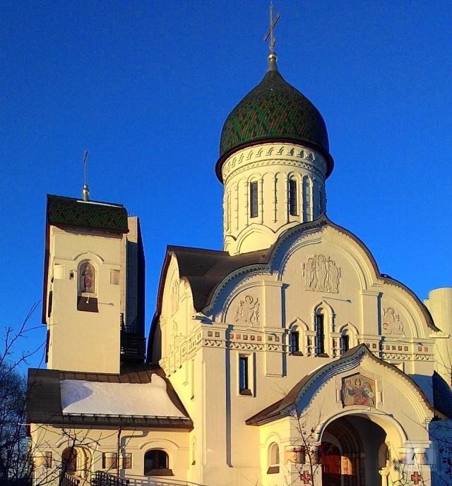 Храм Веры, Надежды, Любви и Софии. Москва