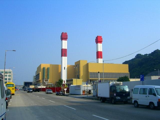 Современный завод по переработке отходов