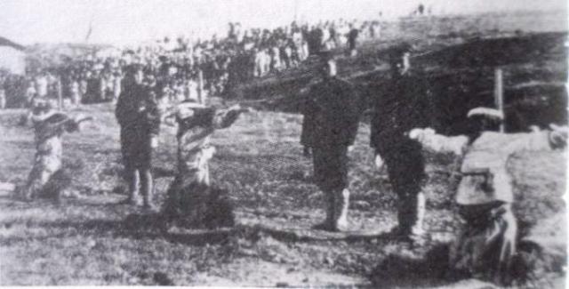 Террор японских оккупационных сил в Корее