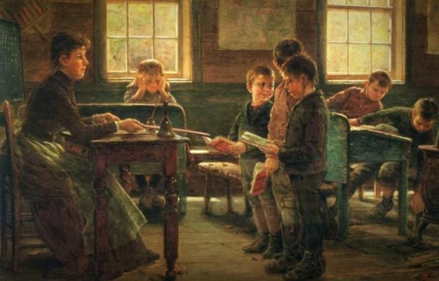 Морган Вистлинг. Сельская школа. 1879