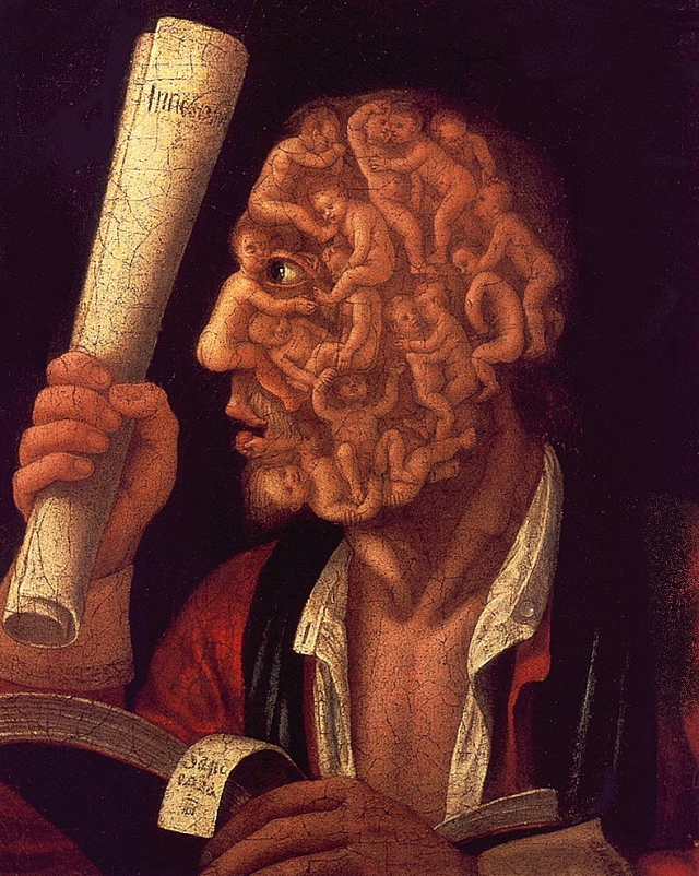 Джузеппе Арчимбольдо. Портрет Адама. 1578