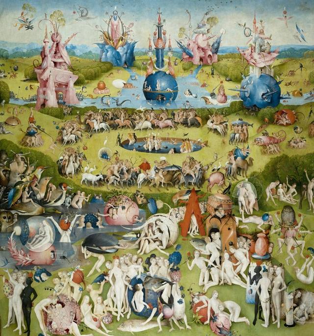 Иероним Босх. Сад земных наслаждений (центральная часть триптиха). 1490 – 1510