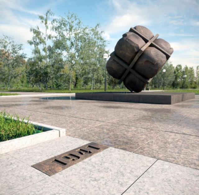 Проект памятника жертвам политических репрессий в Иркутске