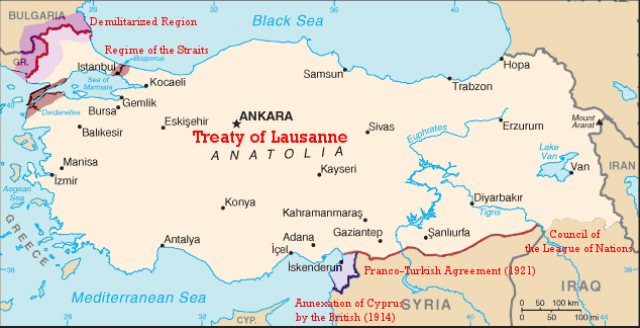 Лозаннский мирный договор 1923 года
