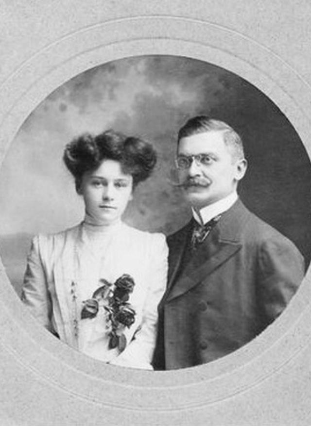 Али Кемаль со своей супругой Уинифред Брун