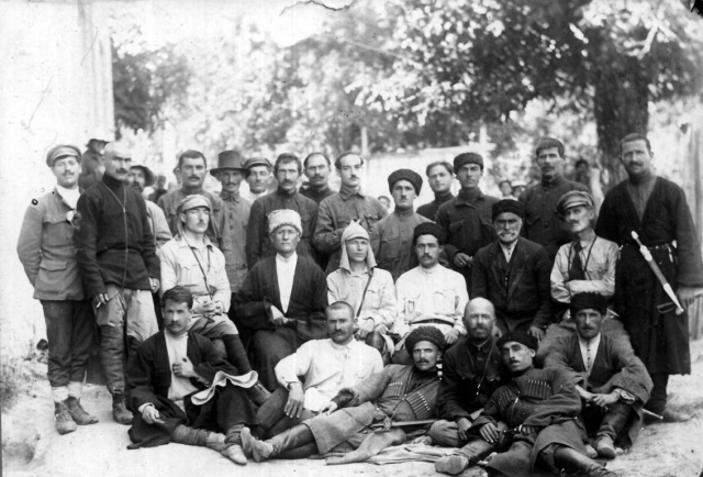 Борцы за независимость Южной Осетии. 1920
