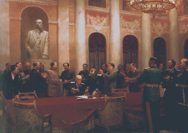 Подписание советско-китайского договора