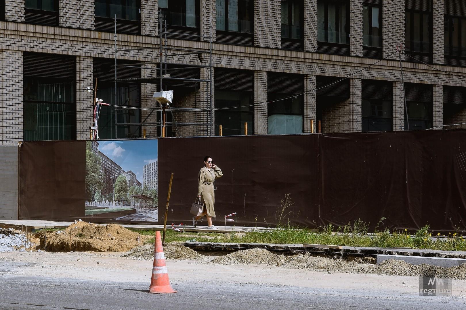 Строительство нового ЖК уже подходит к завершению