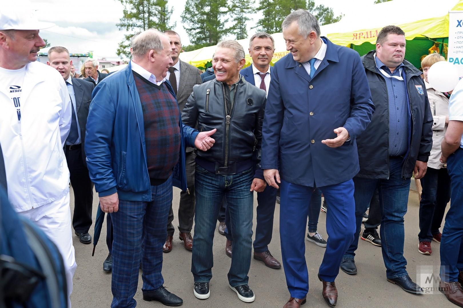 Александр Дрозденко на фестивале  Калейдоскоп вкуса