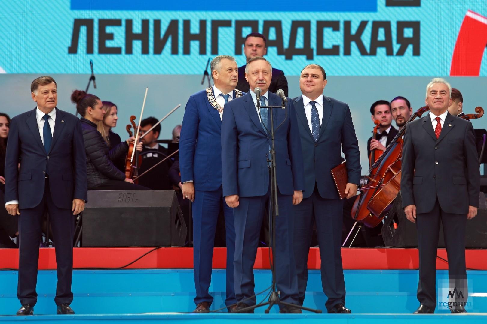 Вячеслав Макаров, Александр Дрозденко, Александр Беглов