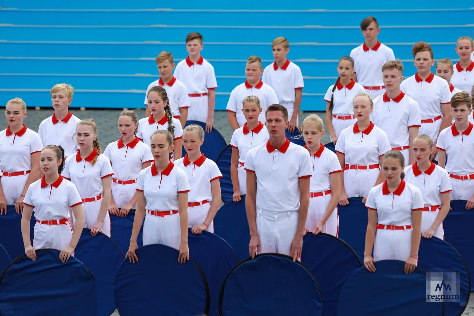 Гала-концерт в честь 92-ой годовщиной Ленинградской области в Бокситогорске