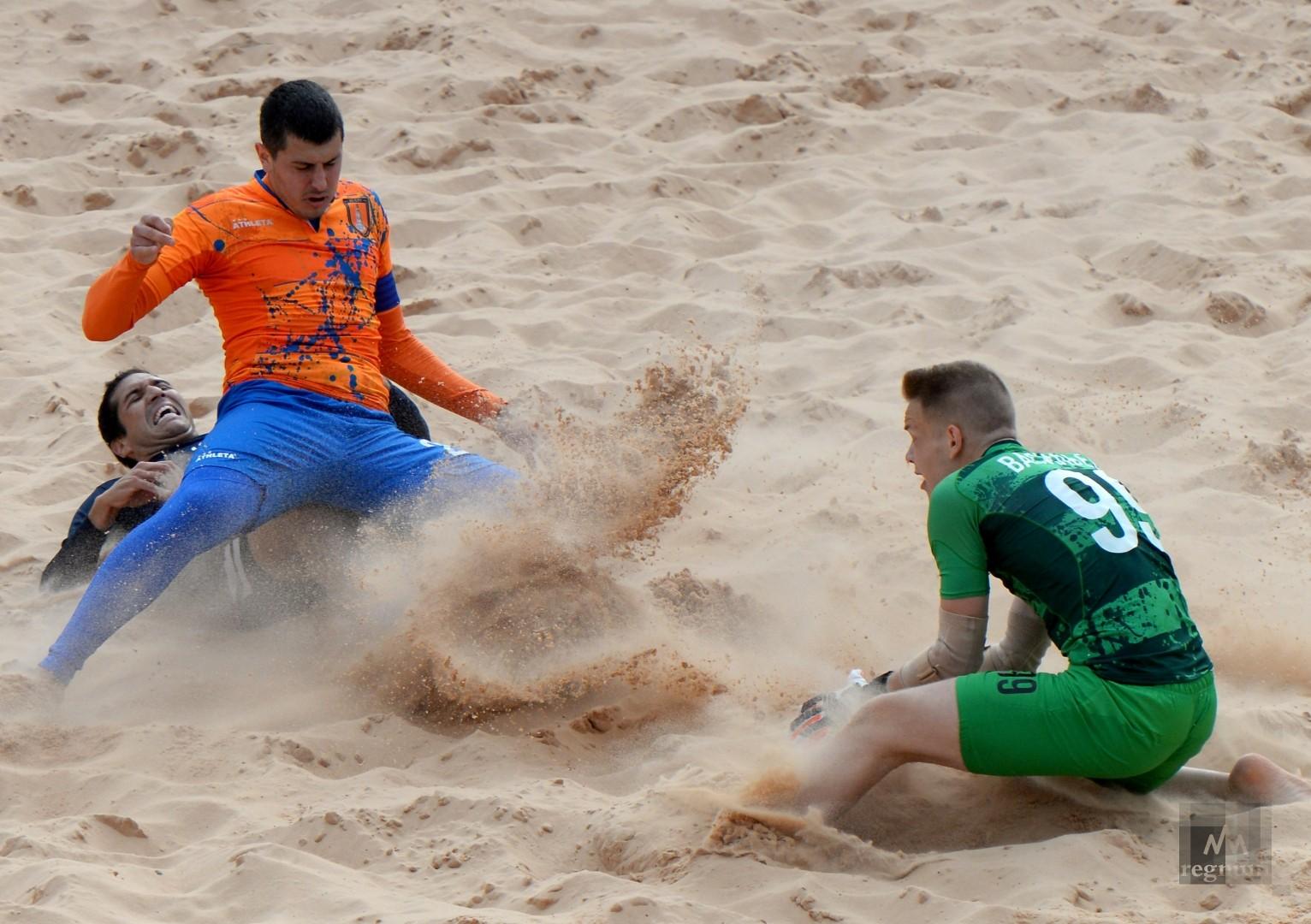 Второй этап чемпионата России по пляжному футболу. ДЕЛЬТА  против СИТИ