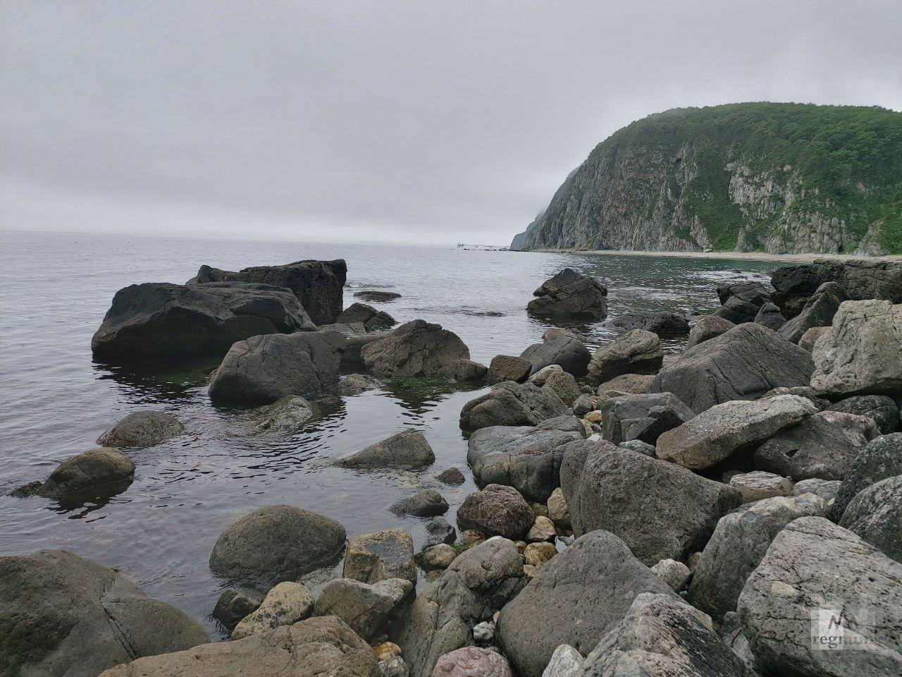 Бухта Клоково на севере Приморья