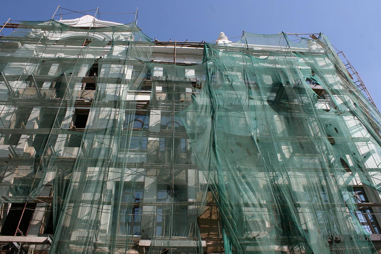 Фото консервации объектов здания