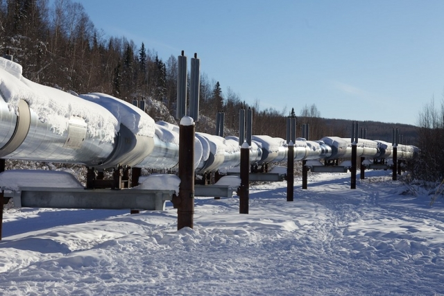 Нефтепровод на Аляске