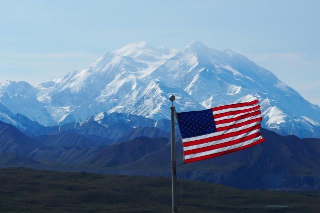 Гора Денали. Аляска, США