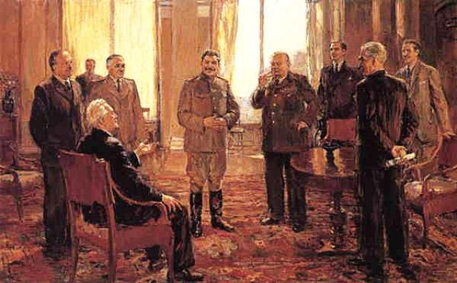 Дмитрий Налбандян. Крымская конференция. 1945