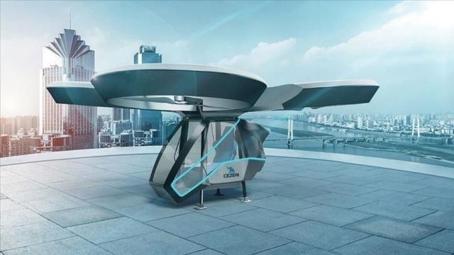 regnum picture 156569580064733 big - Турецкая компания Bayker Makina представила летающий автомобиль Cezeri
