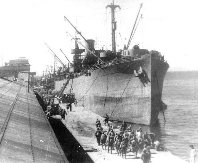 Курильская десантная операция. 1945