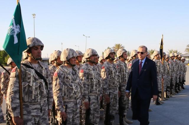 Турецкая военная база в Катаре