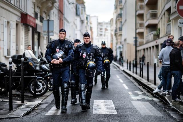 Французская полиция