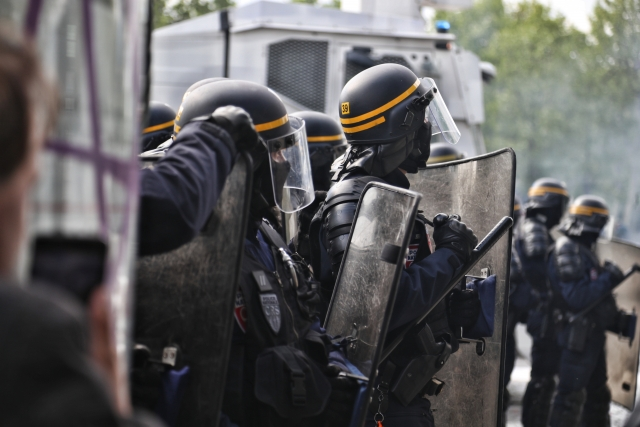 Французская полиция. CRS