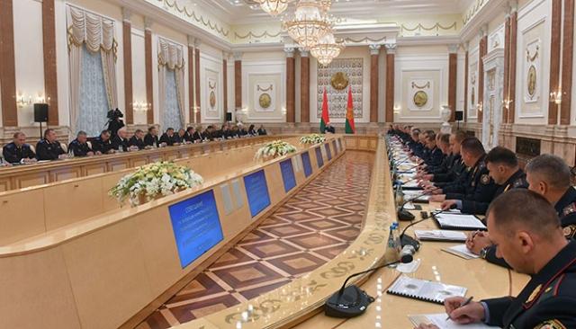 Лукашенко диагностировал правоохранителей Белоруссии: «Дикость!»