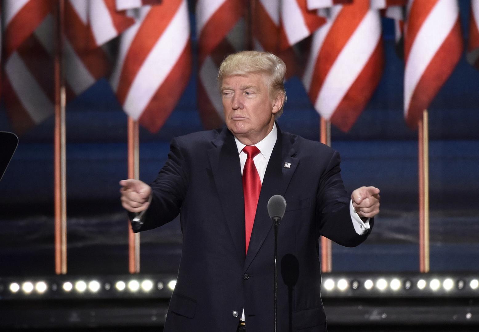 Дональд Трамп в ударе