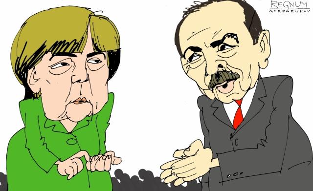 Эрдоган наступил Меркель на больную мозоль