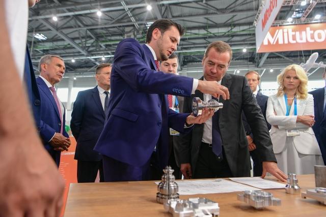 Дмитрий Медведев, будучи в Казани, заговорил на татарском