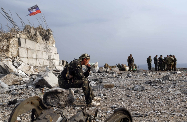 Война в Донбассе. 2015