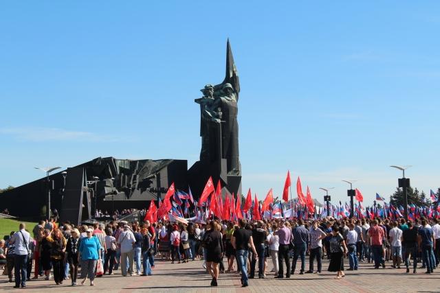 Празднование Дня освобождения Донбасса. Донецк. ДНР. 08.09.2016.