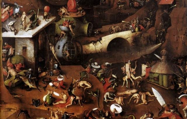 Иероним Босх. Страшный суд. 1504