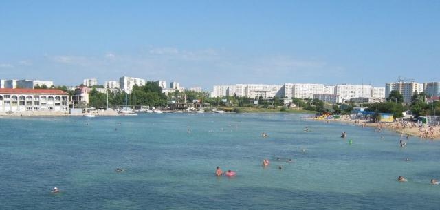 Пляж «Омега». Севастополь