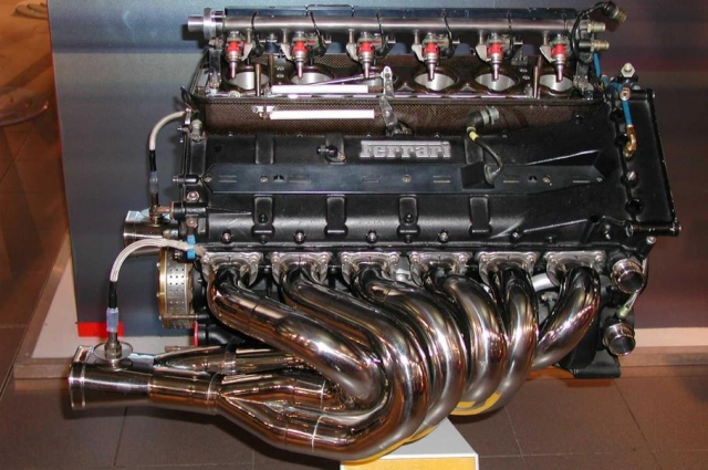 Мотор от Ferrari