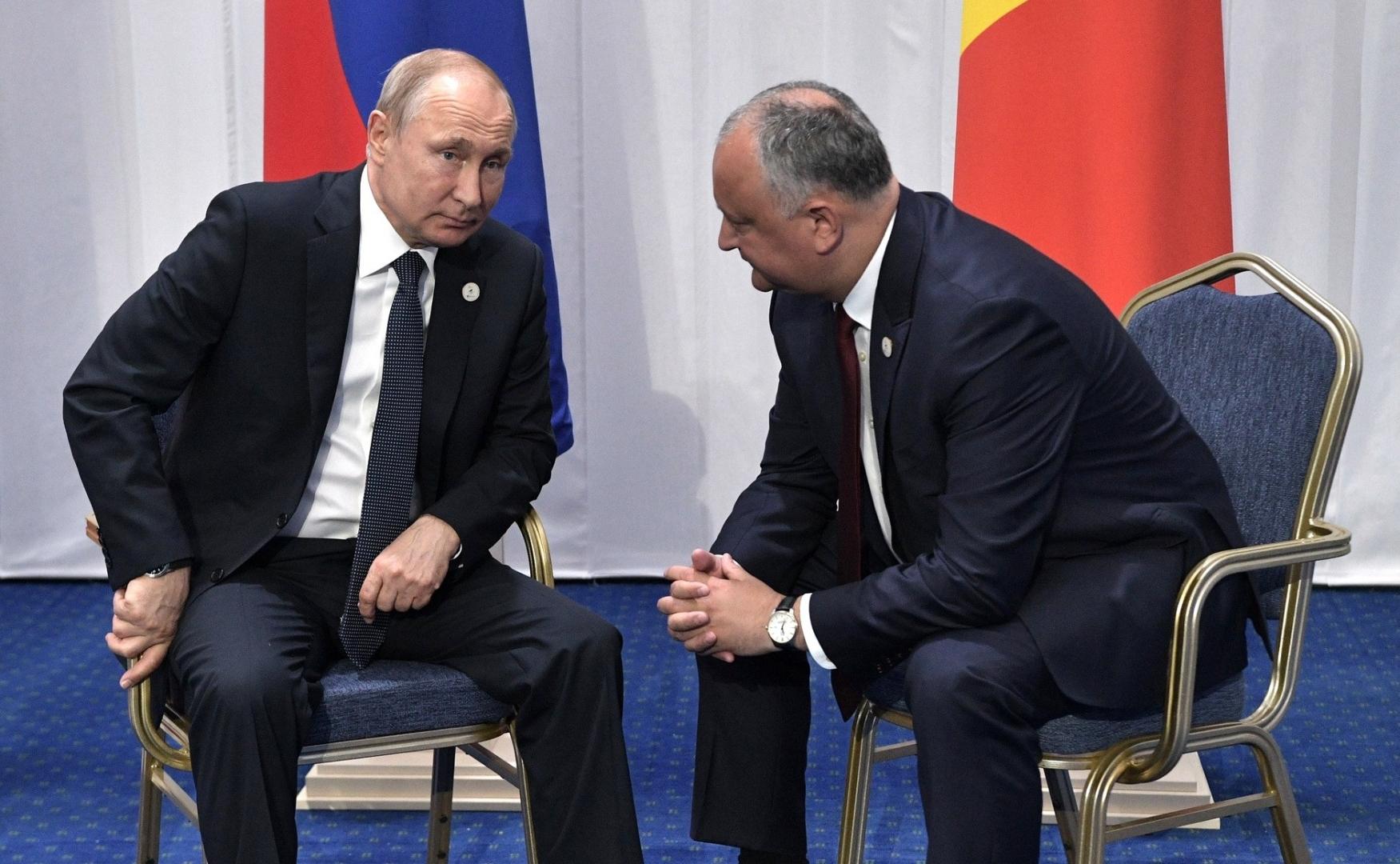 Додон призвал к «тройственному партнёрству» между ЕС, Россией и ...
