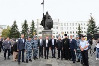 Александр Пересвет на Площади Защитников Отечества