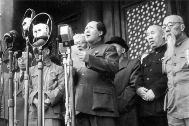 La République populaire de Chine a été proclamée à Beijing.  1er octobre 1949