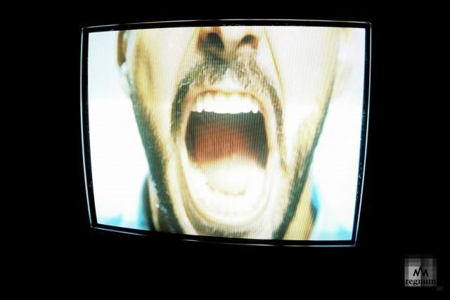 В комнате гнева показывают, как проявляется агрессия
