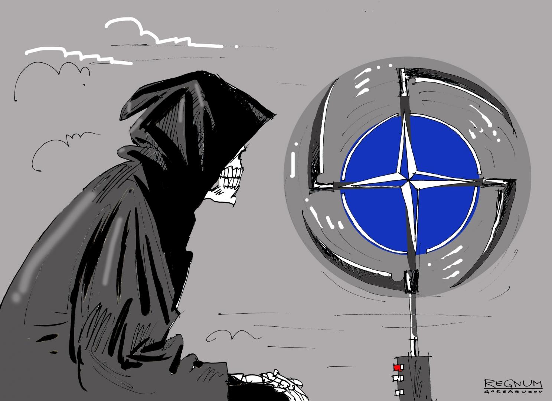 НАТО        Александр Горбаруков
