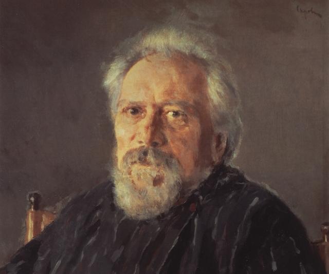 Валентин Серов. Портрет писателя Н.С.Лескова. 1894